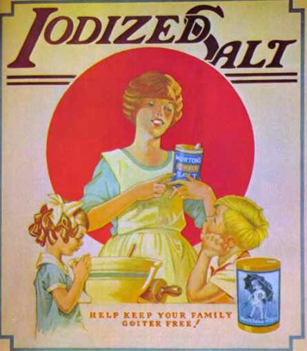 Iodized Salt Advertisment