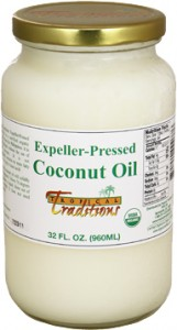 expeller-pressed coconut oil