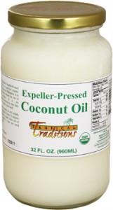 expeller-pressed coconut oil