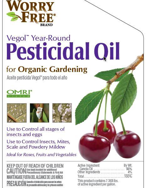 Vegol Pesticidal Canola Oil