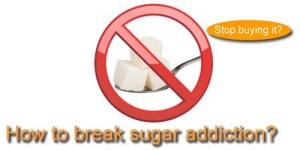 break sugar add